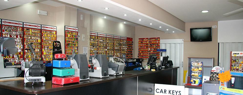 tienda de copia de llaves en Estepona